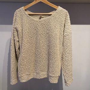 🌹4/16🌹Cozy knit grey sweater